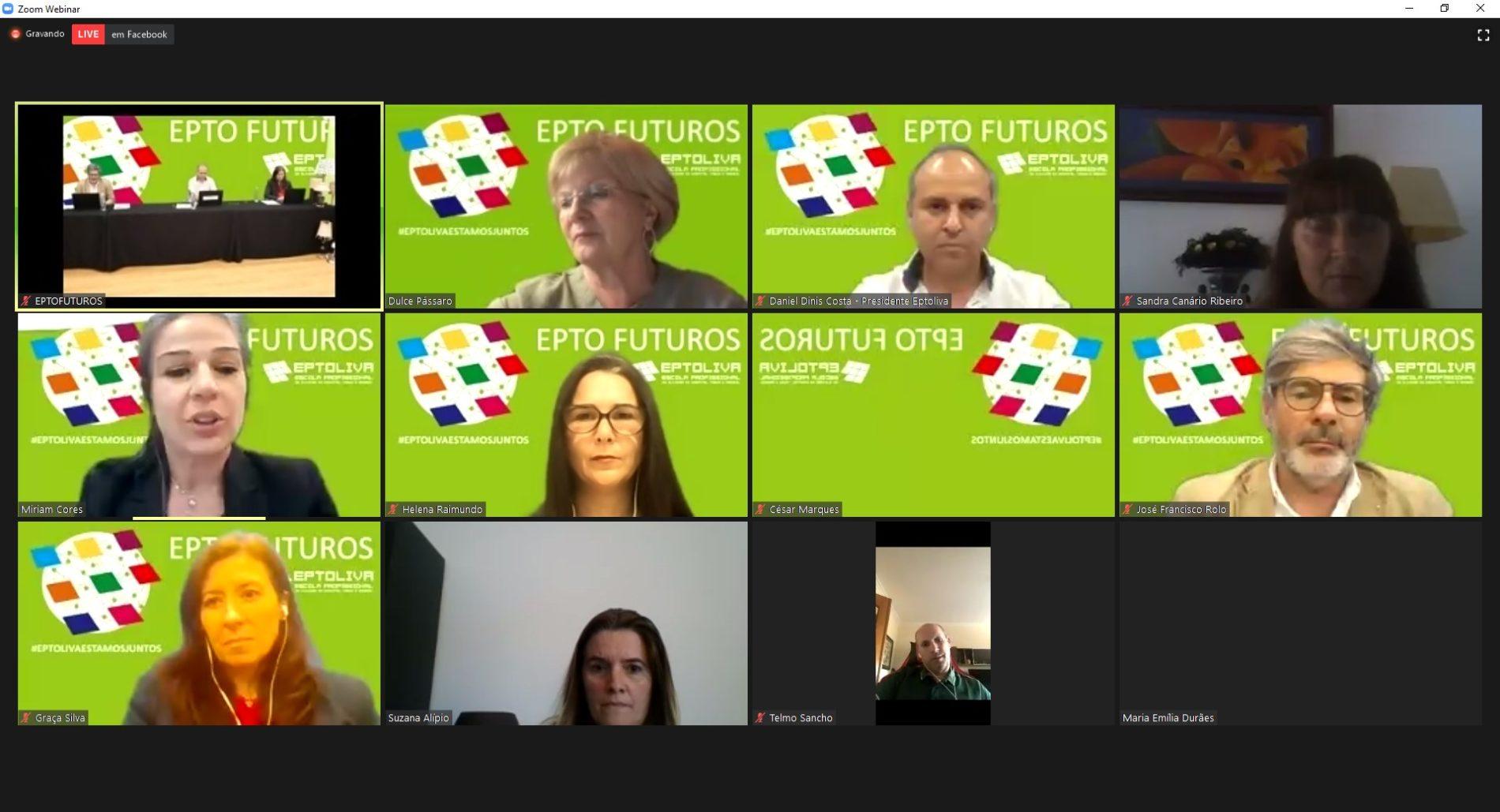 """Acompanhe aqui, em direto, a conferência EPTO FUTUROS Design & Science """"A Sustentabilidade Industrial e a Economia Circular"""""""