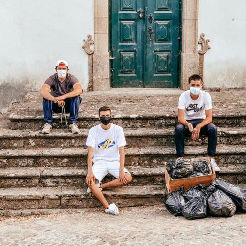 Juventude Popular de Oliveira do Hospital procedeu à limpeza de alguns espaços do concelho