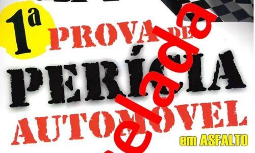 Prova de Perícia Automóvel cancelada devido à Covid-19