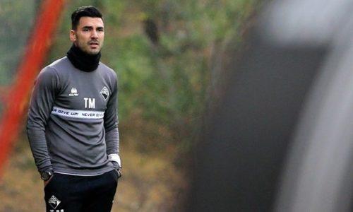 """Tozé Marreco é o novo treinador do FCOH. """"Continuamos a apostar em treinadores jovens"""", afirma Mário Brito, presidente do clube"""