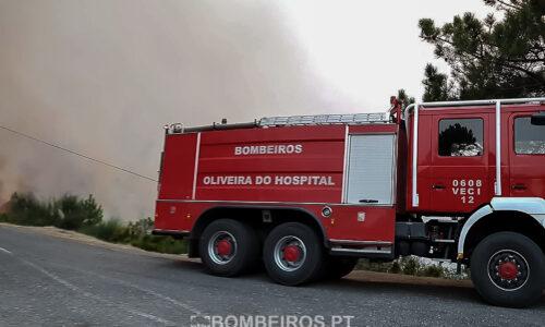 Fogo em Pampilhosa da Serra em fase de conclusão