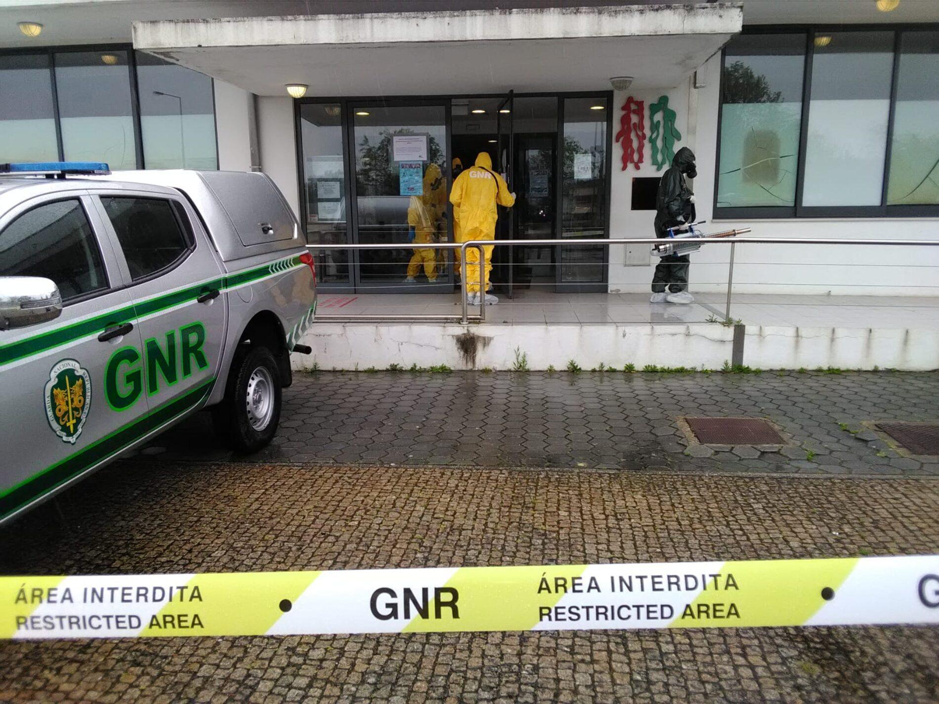 Covid-19: GNR já descontaminou mais de 200 instalações