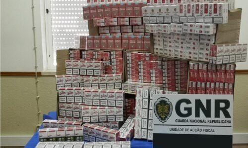 Soure: GNR apreendeu 70 mil cigarros