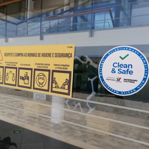 Espaços culturais de Seia com Selo Clean & Safe