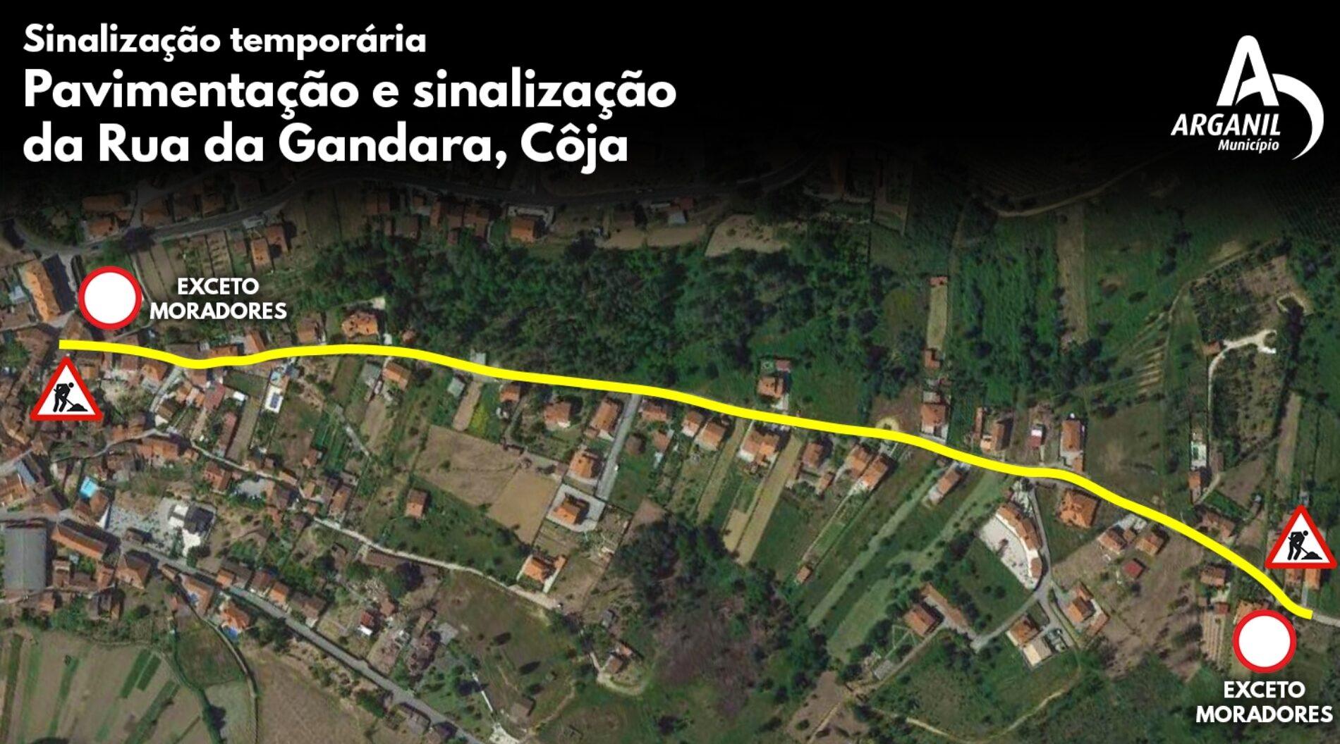 Município de Arganil avança com requalificação de ruas em Côja