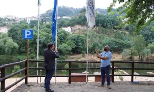 Penacova: Bandeira Azul hasteada na Praia Fluvial do Reconquinho