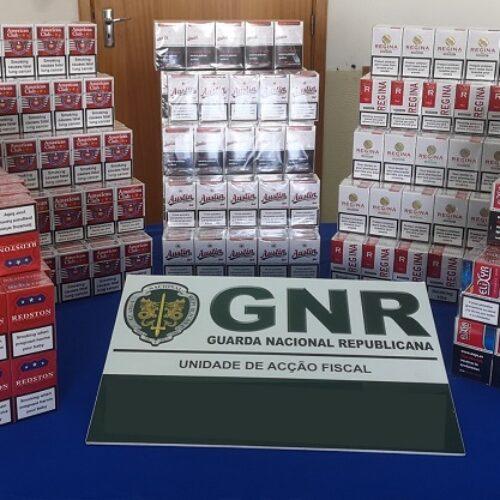 GNR apreendeu 15mil cigarrossem estampilha fiscal