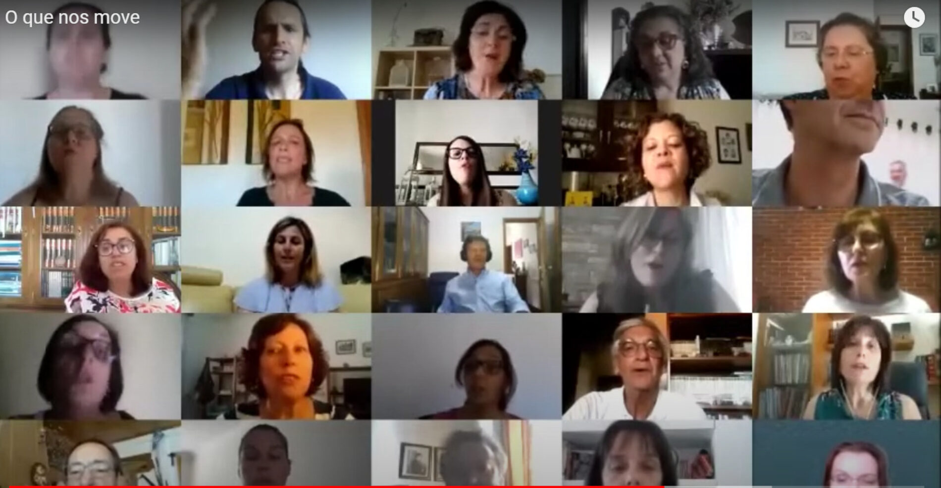 """Professores do AEOH gravam videoclip que """"traduz o sentimento no final de um ano letivo marcado pela pandemia"""" (com vídeo)"""